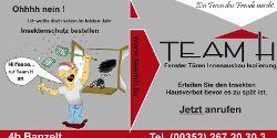 Insektenschutz nach maß bei Team H in Luxembourg
